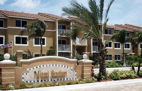 Stadium Apartments Miami Florida